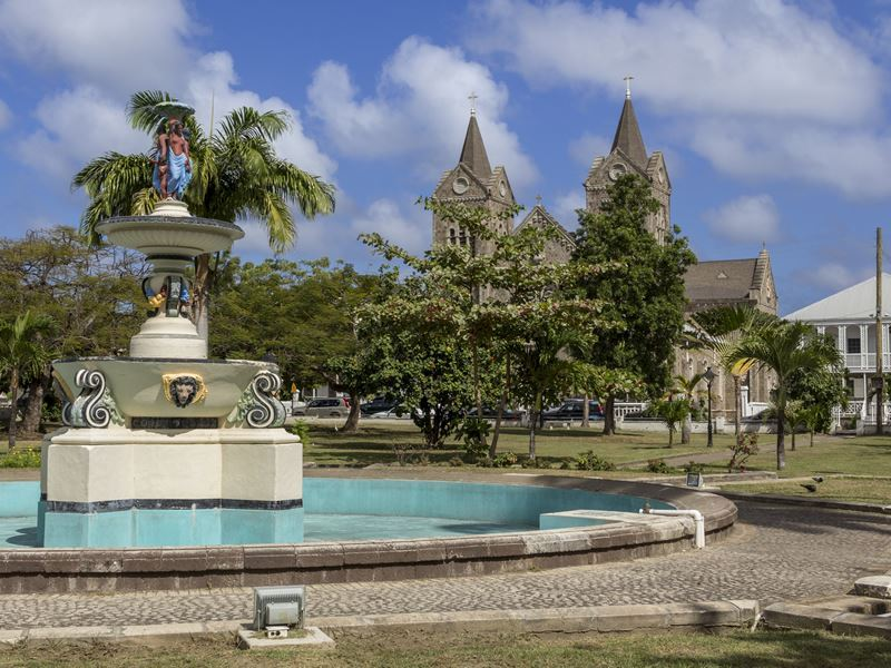 independence square basseterre