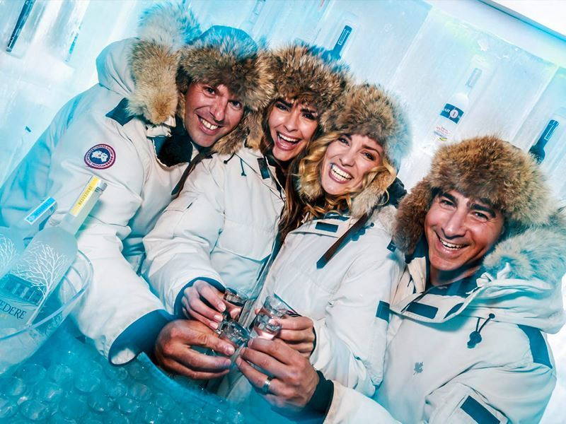 Ketel One Ice Room, Whistler