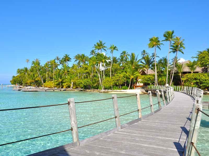 la taha a island resort pontoon