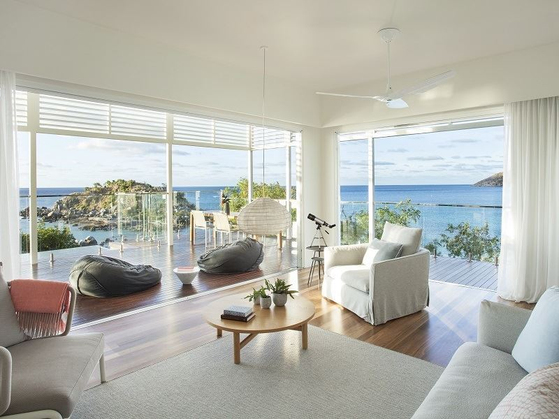 Lizard Island Pavilion living room
