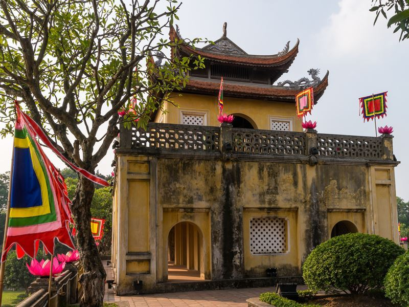 main gate of thang long citadel