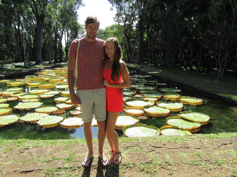 Megan & David in Mauritius