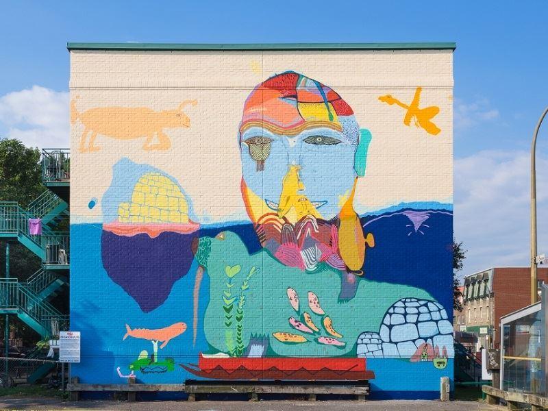 MU Street Art, Montreal