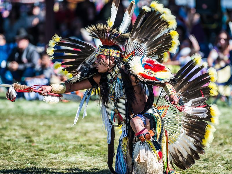 native american pow wow north dakota
