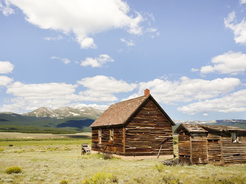 old mining home near leadville colorado