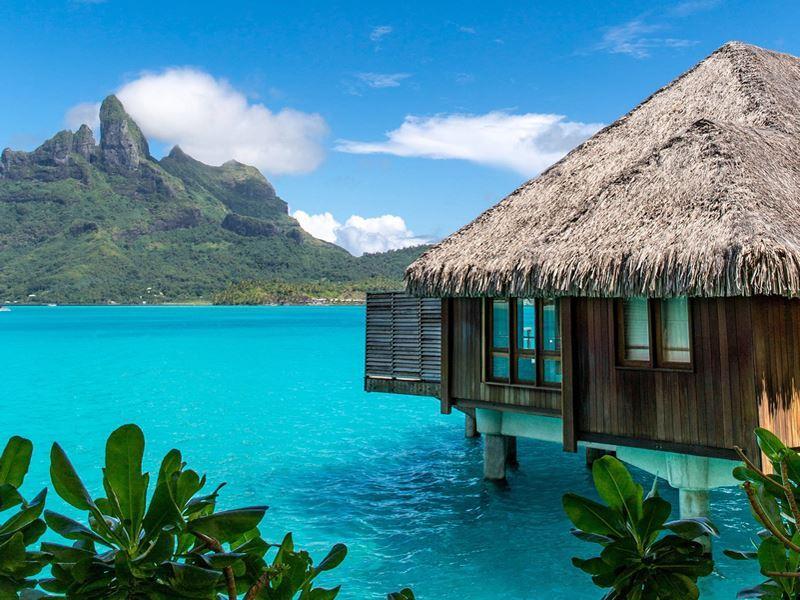over water villa tahiti
