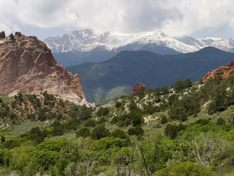 pikes peak national forest colorado