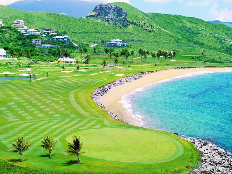 royal st kitts golf club view