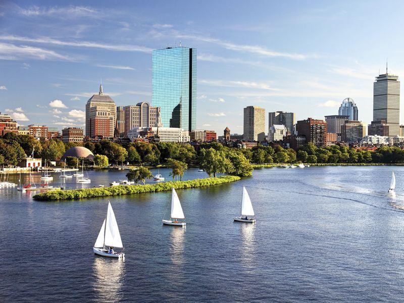sail boats in boston