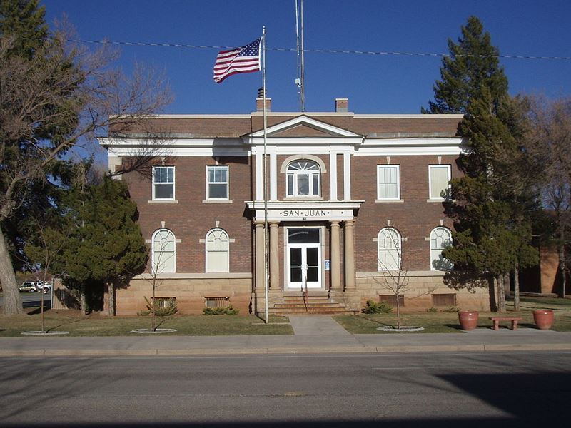 san juan county courthouse monticello