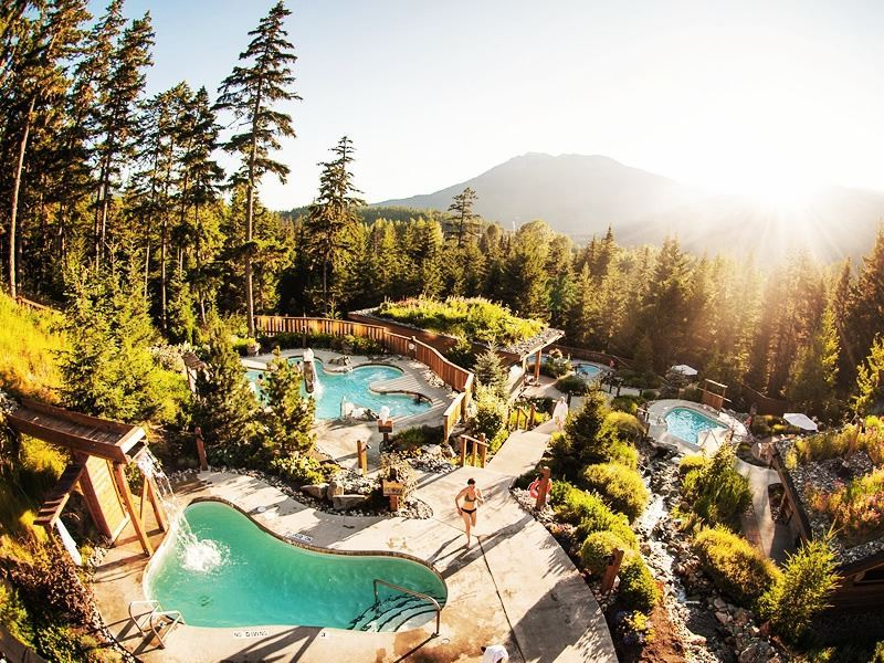 scandinave spa baths whistler