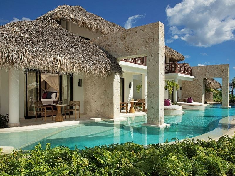 secrets cap cana preferred club bungalow master suite ocean front