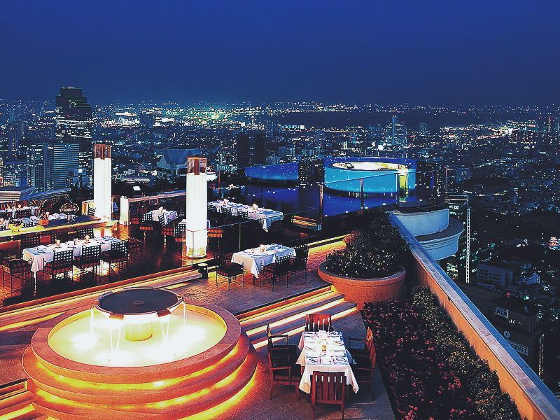 sky bar at lebua bangkok