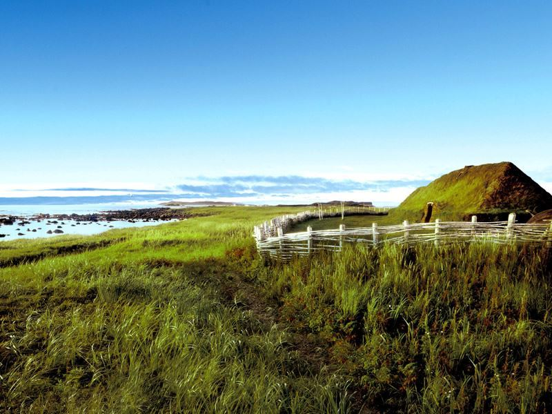sod hut lanse aux meadows