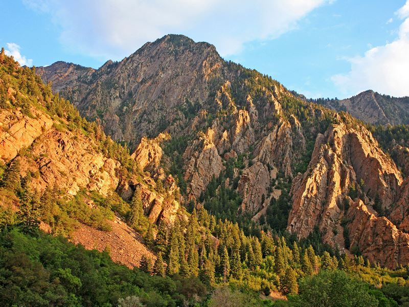 storm mountain cottonwood canyon utah