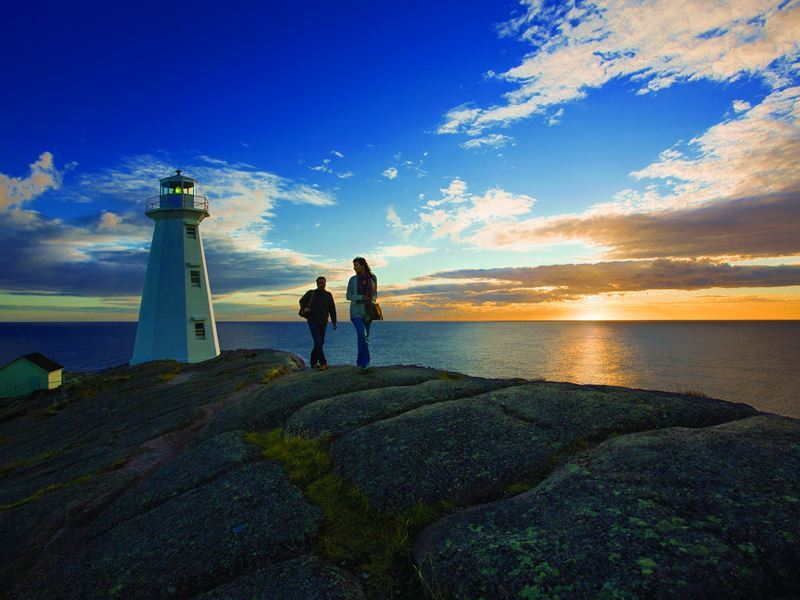Sunrise at Cape Spear Lighthouse, Avalon