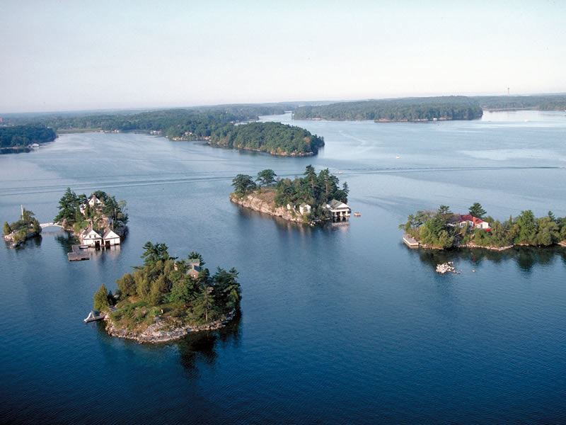 thousand islands scenery
