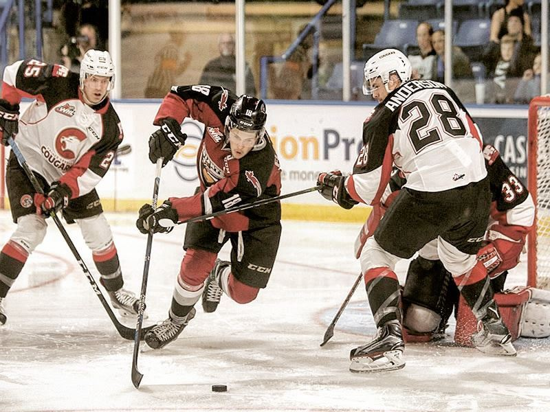 vancouver giants vs prince george cougars