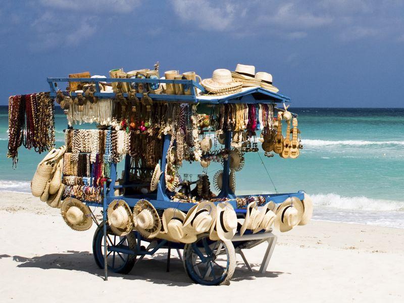 varadero beach kiosk