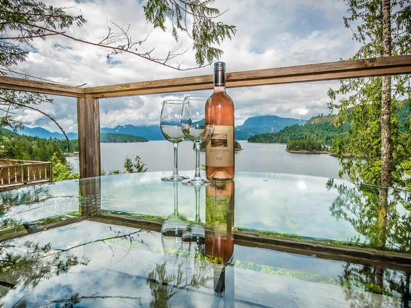 west coast wilderness lodge wine