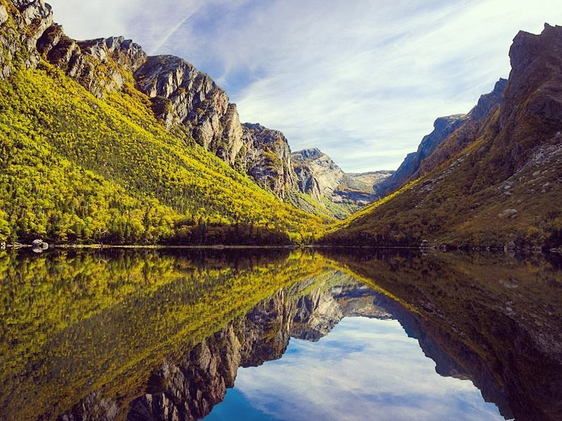 western brook pond gros morne national park