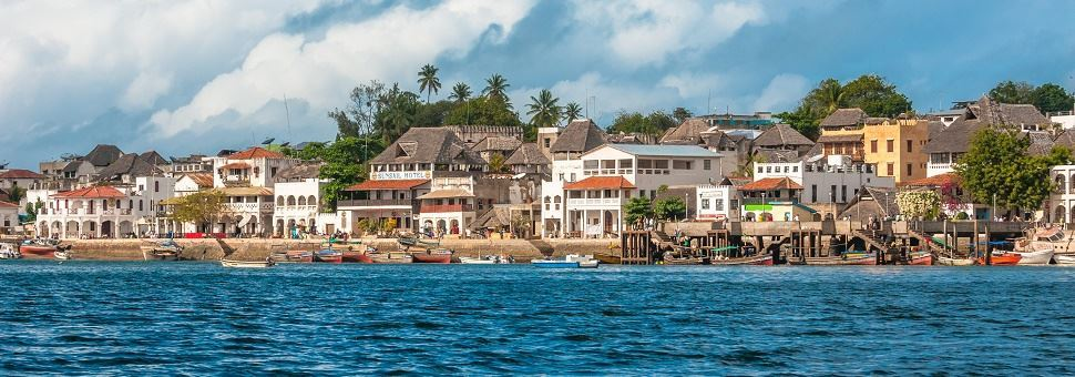 zanzibar and lamu two ancient Diani is immersed in original lush vegetation that features very old baobabs trees  as well as frangipani, bougainvillea, hibiscus, coconut palm trees and mango.