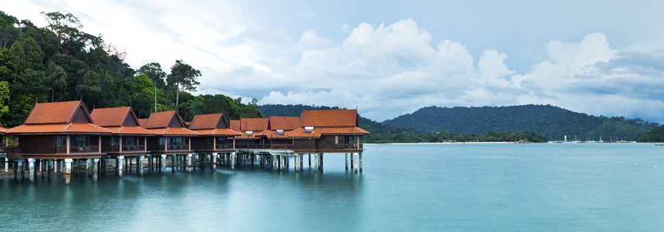 Stilt villas in Langkawi