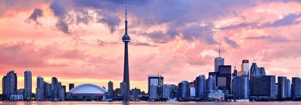 Sunset over Toronto