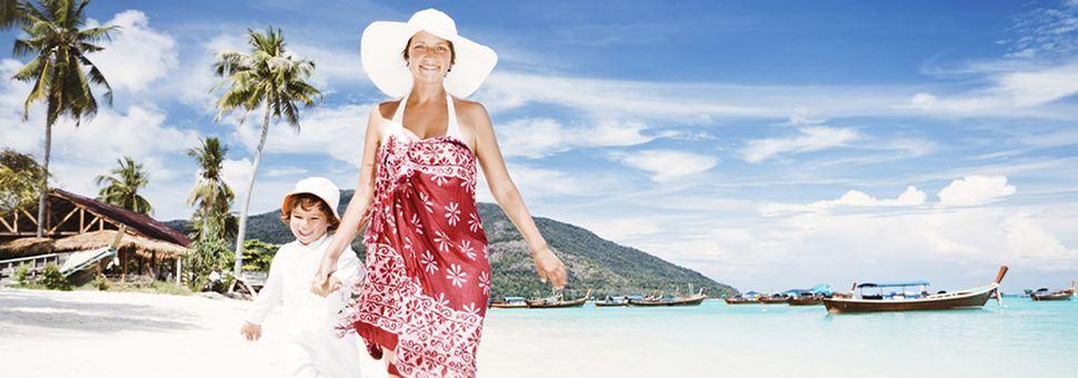 Enjoy a family beach holiday in Thailand